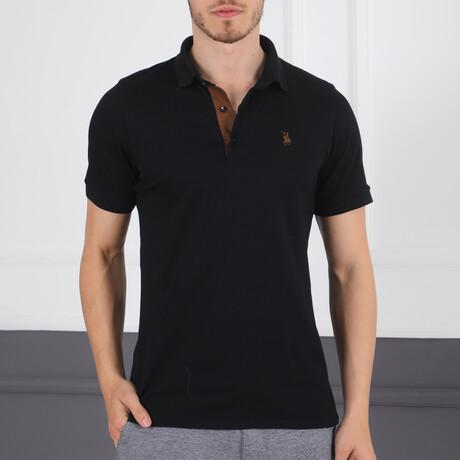Kasper Polo // Black (Small)
