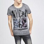 NYC T-Shirt // Anthracite (Small)
