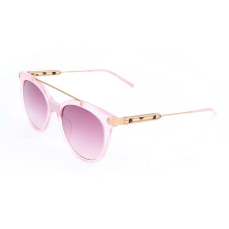 Women's CKNYC1871S Sunglasses // Milky Light Pink