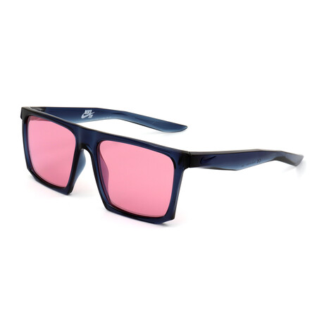 Men's EV1058 Sunglasses // Midnight Navy + Pink