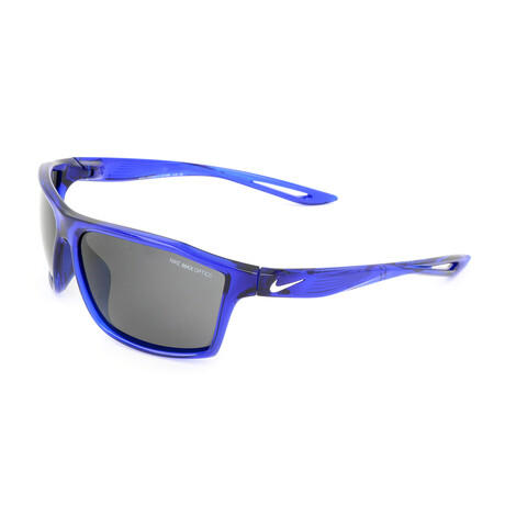 Men's EV1061 Sunglasses // Royal Blue + White + Dark Gray