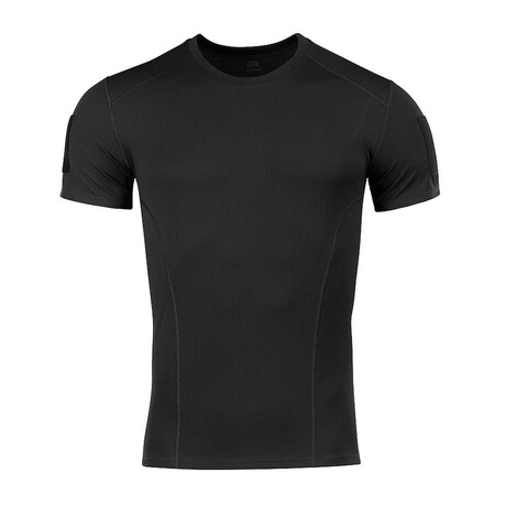 Poly Solid T-shirt // Black (S)
