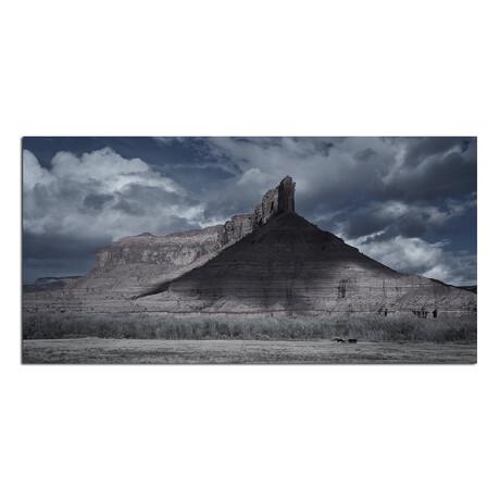 "Peak Mountain (48""W x 16""H x 0.5""D // Horizontal)"