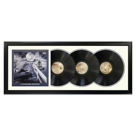 "Eminem ""The Slim Shady LP"" Framed Triple Record (White)"