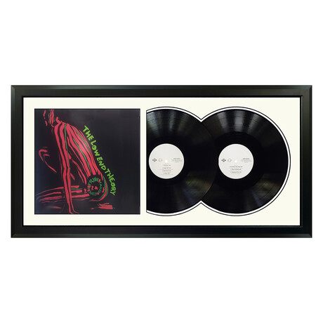 "A Tribe Called Quest ""The Low End Theory"" Framed Double Record (White)"