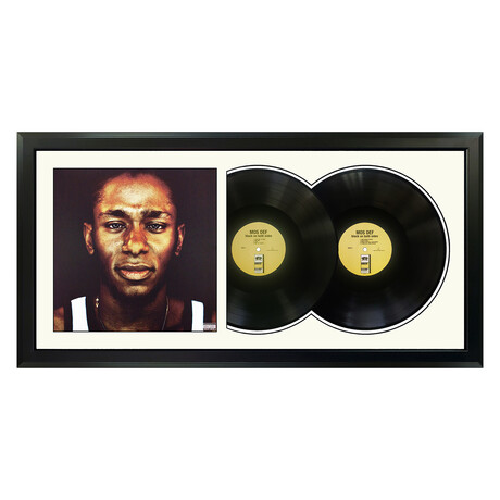"Mos Def ""Black On Both Sides"" Framed Double Record (White)"
