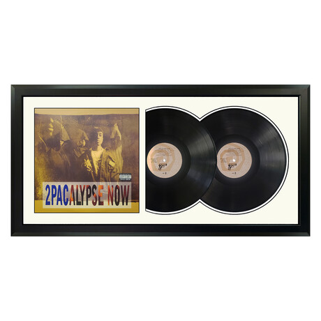 "2Pac ""2Pacalypse Now"" Framed Double Record (White)"