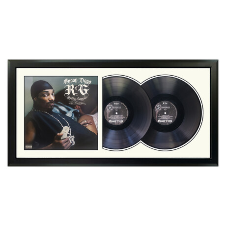 "Snoop Dogg ""R&G (Rhythm & Gangsta)"" Framed Double Record (White)"