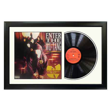 "Wu-Tang Clan ""Enter the Wu-Tang (36 Chambers)"" Framed Record (White)"