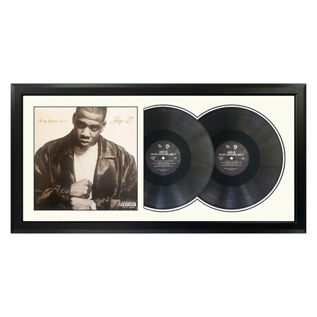 "Jay-Z ""In my Lifetime, Vol. 1"" Framed Double Record (White)"