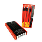 3-Needle Assortment Kit // Black + Red + Silver
