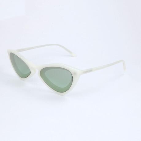 Unisex CKNYC1855SR Sunglasses // Milky Bone