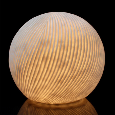 Cast Resin Sphere Lamp V1