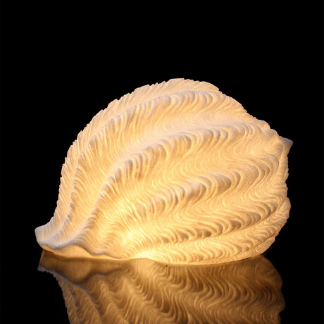Cast Resin Tonna Galea Lamp