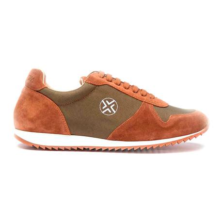 Pronoia1M Sneaker // Green + Orange (Euro: 40)