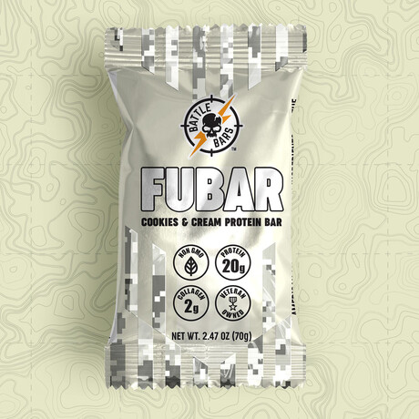 FUBAR Cookies & Cream // Pack of 12