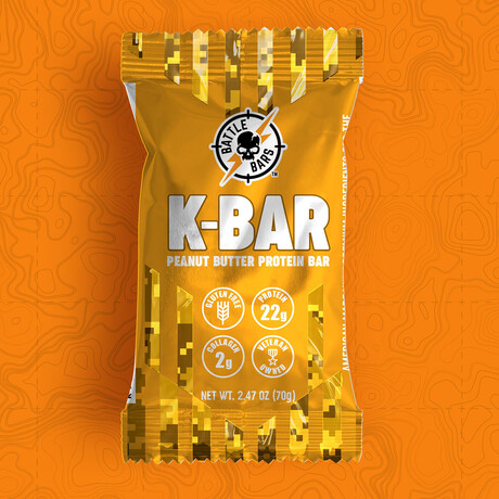 K-Bar Peanut Butter // Pack of 12