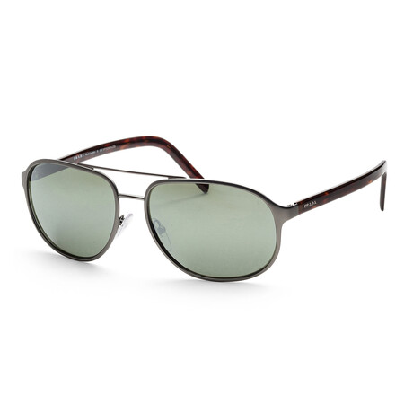 Prada // Women's PR53XS-52372260 Sunglasses // Matte Gunmetal + Gray Mirror
