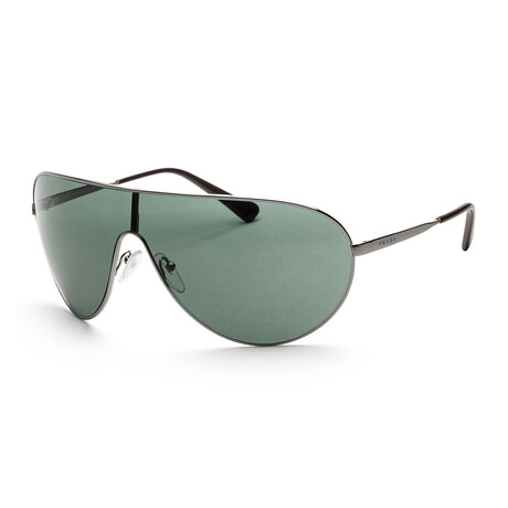 Prada // Men's PR55XS-5AV72842 Sunglasses // Gunmetal + Green