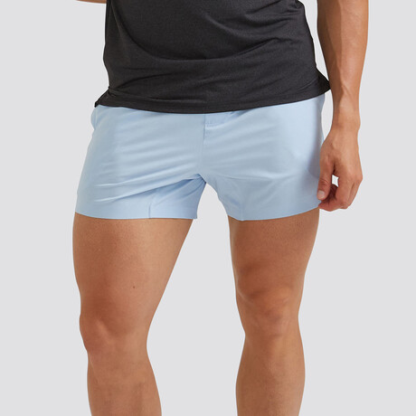 "Hi-Flex™ Training Shorts 5"" Unlined // Pastel Blue (Extra Small)"