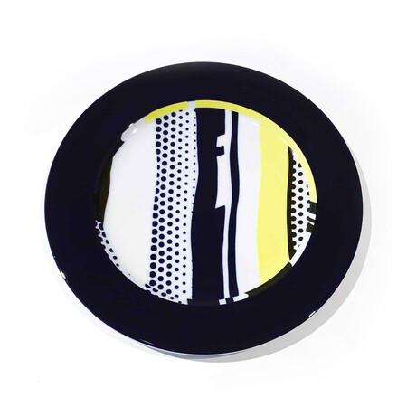 Roy Lichtenstein // Untitled plate // 1990