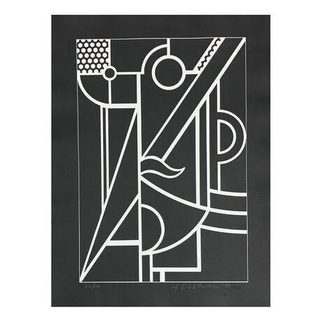 Roy Lichtenstein // Modern Head #3 // 1970