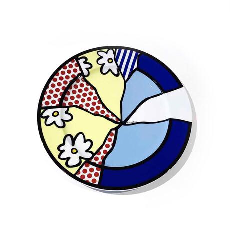 Roy Lichtenstein // Ohne Titel Kunstlerplatzteller // 1990