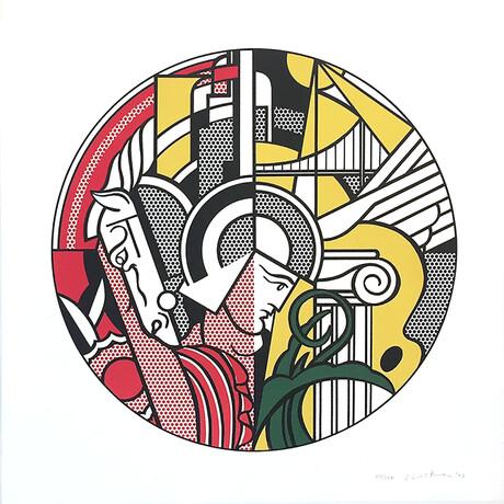 Roy Lichtenstein // The Solomon R. Guggensheim Museum Print // 1969
