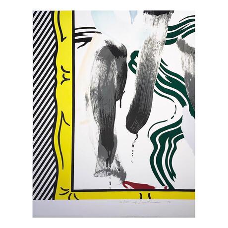 Roy Lichtenstein // Against Apartheid // 1983