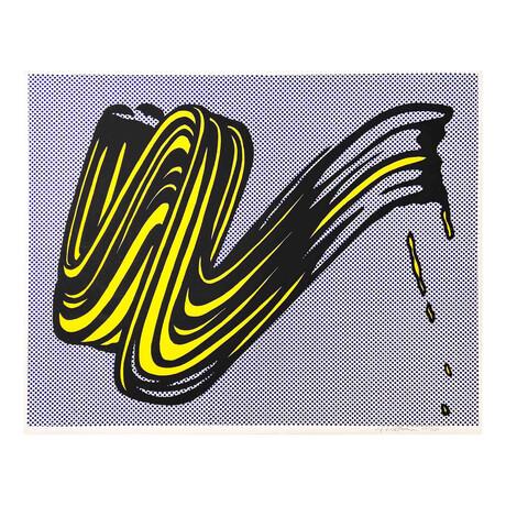 Roy Lichtenstein // Brushstroke // 1965