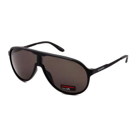Carrera // Men's Pilot Sunglasses // Matte Black