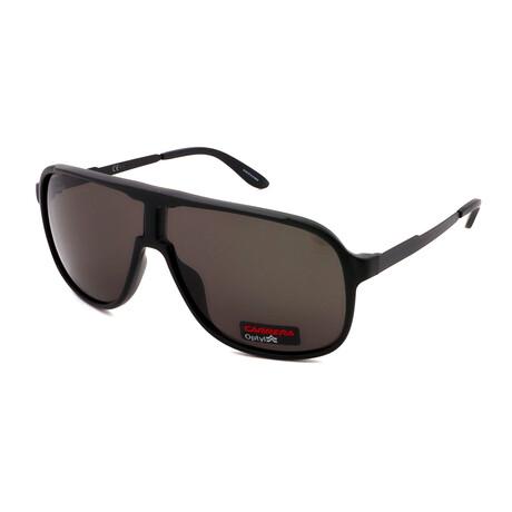 Carrera // Men's NEWSAFARI-GTN Pilot Sunglasses // Matte Black