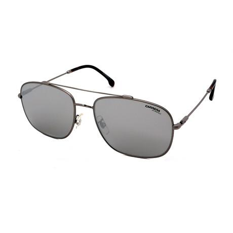 Carrera // Men's Aviator Sunglasses // Ruthenium