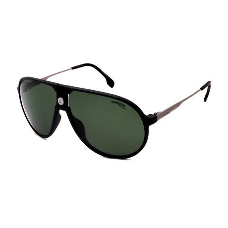 Carrera // Men's Pilot Polarized Sunglasses // Matte Black