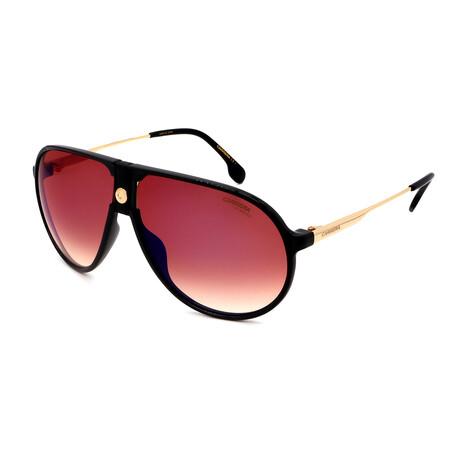 Carrera // Men's Pilot Sunglasses // Black