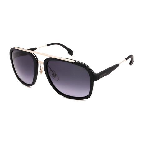 Carrera // Men's Aviator Sunglasses // Matte Black