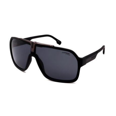 Carrera // Men's 1014-S-003 Aviator Sunglasses // Matte Black