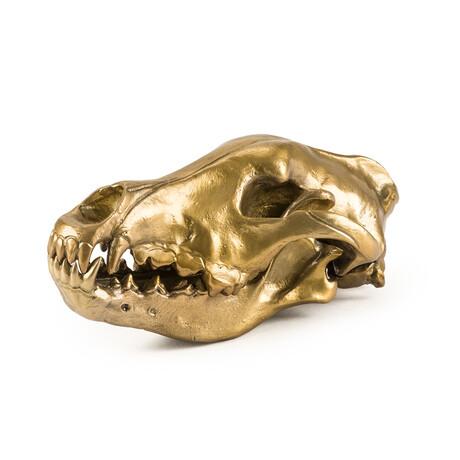 Diesel Living // Wolf Skull In Aluminum