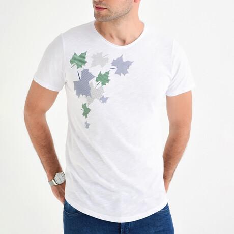 Leaves T-Shirt // White (S)