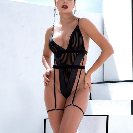 Molly Bodysuit // Black (S-M)