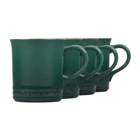 Mugs // Set of 4 (Licorice)