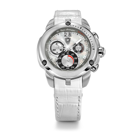 Lamborghini Ladies Shield Chronograph Quartz // 7712
