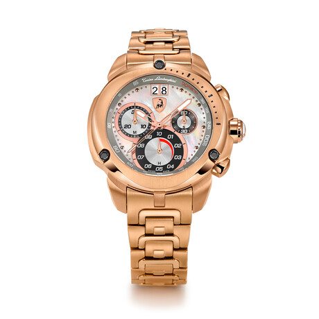 Lamborghini Ladies Shield Chronograph Quartz // 7716