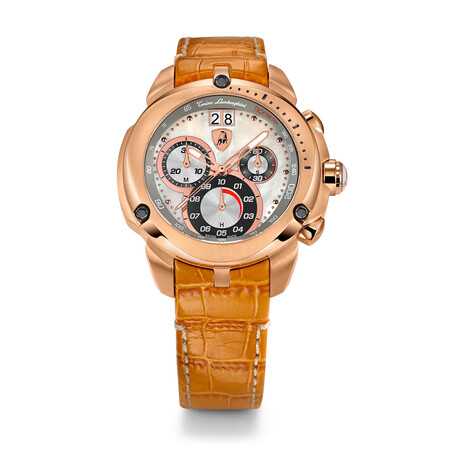 Lamborghini Ladies Shield Chronograph Quartz // 7711