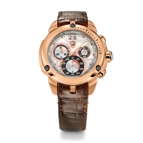 Lamborghini Ladies Shield Chronograph Quartz // 7713