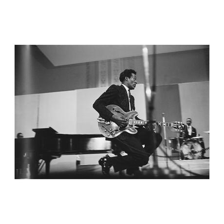 "Chuck Berry // V2 (24""W x 20""H)"