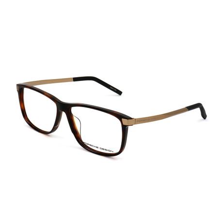 Men's P8319 Optical Frames // Havana