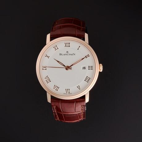 Blancpain Villeret Ultra Slim Automatic // 6651-3642-55B // Store Display