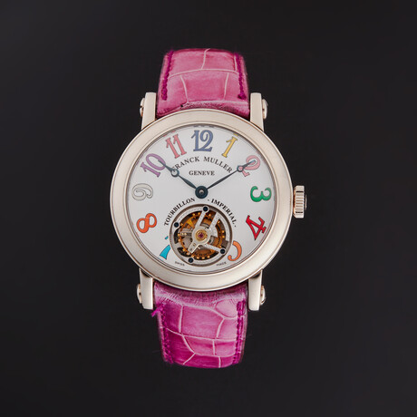 Franck Muller Classic Round Color Dreams Tourbillon Manual Wind // 7000 T CD // Store Display