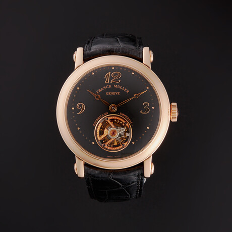 Franck Muller Classic Round Tourbillon Manual Wind // 7002 T // Store Display